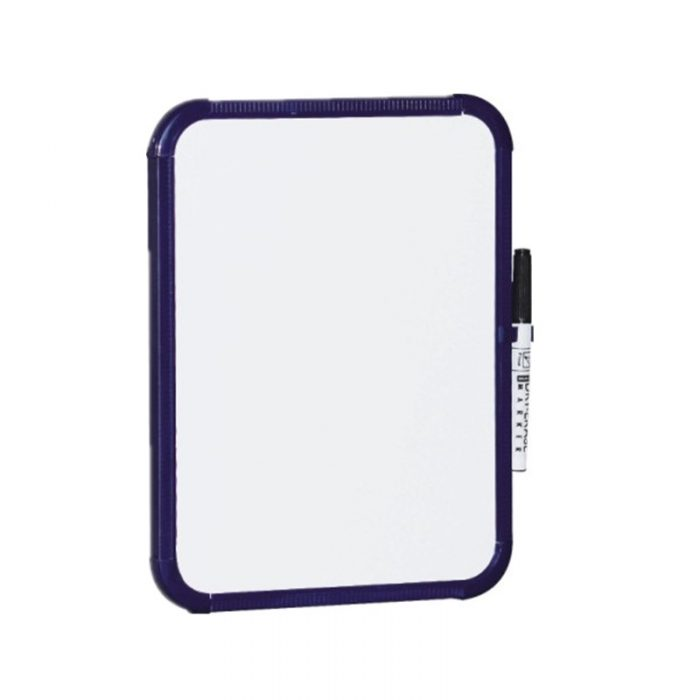 plastic white board(non-magnetic) 91029 1 8.5x11 inch whiteboard
