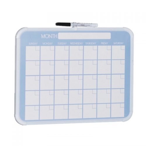 monthly calendar plastic dry erase board(non-magnetic) 91071 4 monthly calendar