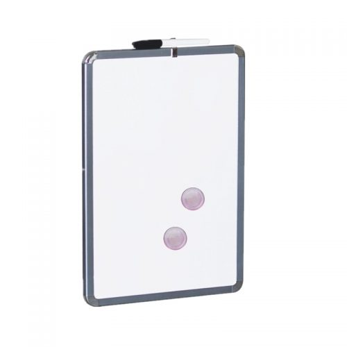 91065 11x17 dry erase board with metallic frame(white surface) 1 11x17 dry erase board