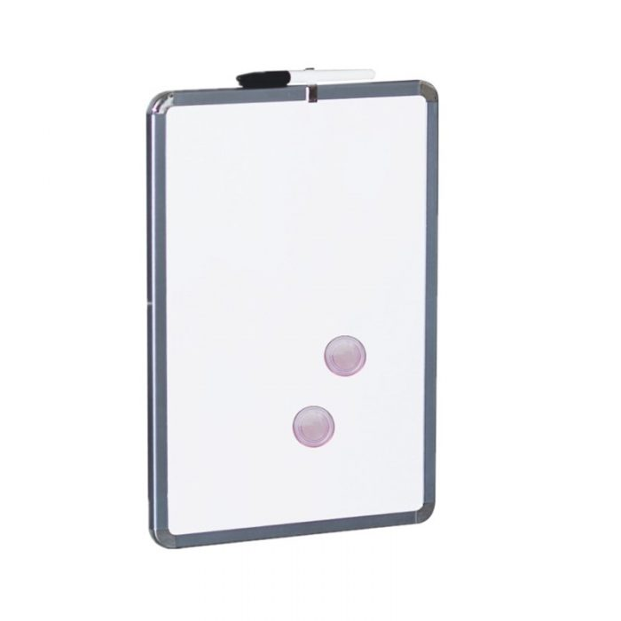 91129 11inch dry erase board with metallic frame(white surface) 1 11inch dry erase board