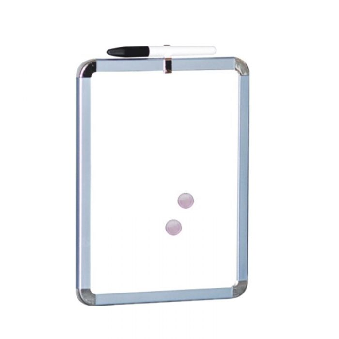 91129 11inch dry erase board with metallic frame(white surface) 2 11inch dry erase board