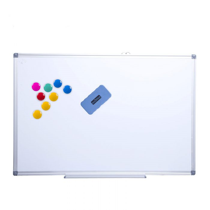 91046-01 Aluminum whiteboard with Invisible Assembly 3 magnetic whiteboard aluminum frame